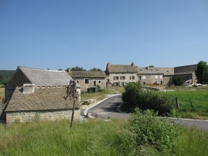 Hameau de Hermabessière,  commune de Sainte Colombe de Peyre.