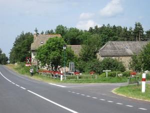 Restaurant l'Ousta Bas à Sainte Colombe de Peyre.