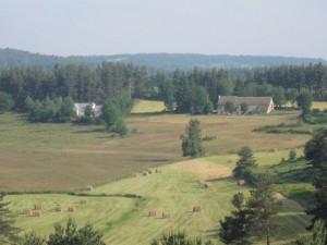 Hameau de Belvezet, commune de sainte Colombe de Peyre