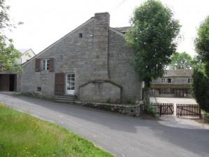 Hameau du Ventouzet, commune de Sainte Colombe de Peyre.