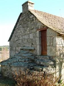 Moulin de La Brugerette, commune de Sainte Colombe de Peyre.